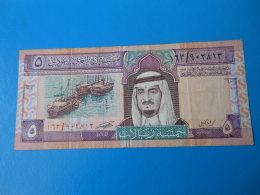 Arabie Saoudite Saudi Arabia 5 Riyal 1983 P.22 Sign. 5 TB à TTB F To VF - Arabie Saoudite