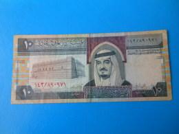Arabie Saoudite Saudi Arabia 10 Riyals 1983 P.23 A/b Sign. 5 TB  F - Arabie Saoudite