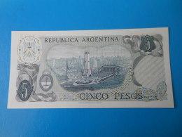 Argentine Argentina 5 Pesos 1974-1976 P.294 UNC - Argentinië