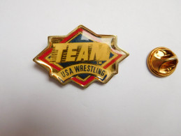 Sport , Team USA Wrestling - Pin's