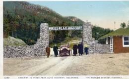 Gateway To Pikes Peak Auto Highway - Colorado - Etats-Unis