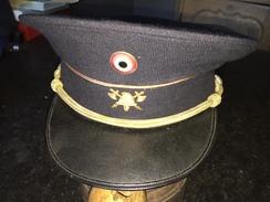 Képi Ancien Officier Pompier Belge Années 30 - 40 - Pompiers