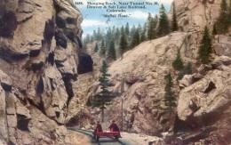 Colorado - Hanging Rock, Near Tunnel N°30 - Denver & Salt Lake Railroad - Moffat Road - Etats-Unis