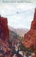 Colorado - Gateway, South Boulder Canon, Eldorado Springs - Ivy Baldwin On The High Wire - Funanbule - Etats-Unis