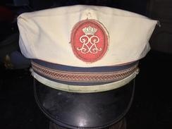 Képi Gendarme Principauté De Monaco Avec Housse été Gala ? - Police & Gendarmerie