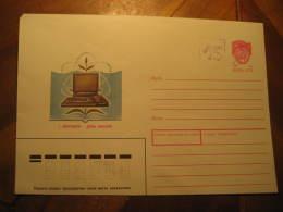 HAAPSALU Local 15 Kop Overprinted Russian Postal Stationery Cover Estonia Russia - 1923-1991 UdSSR