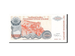 Croatie, 5 Million Dinara, 1993, Undated, KM:R24a, NEUF - Croatie