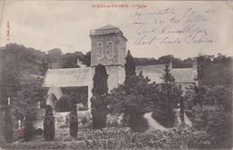 SAINT-JEAN-LE-THOMAS - L'Eglise Et Son Jardin - France