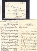 Allemagne - Empire - Lettre Militaire De 1916 - Oblitération Kaiserliche Marine - Stationée à Helgoland - Avec Contenu - Briefe U. Dokumente