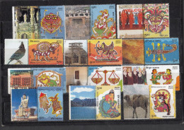 INDIA, 2011, Indipex, Astrological Signs, Zodiac, My Stamps,  Stamp,Complete Set 12 V,  With Assorted Labels, MNH, (**) - Nuovi