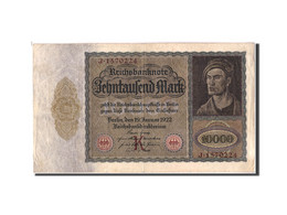 Allemagne, 10,000 Mark, 1922, KM:70, 1922-01-19, TB+ - 10000 Mark