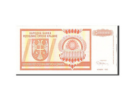 Croatie, 500 Million Dinara, 1993, Undated, KM:R16a, NEUF - Croatie