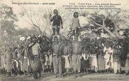 HAUTE GUINÉE - TAm-Tam,les Griots Dansent..... - Guinea
