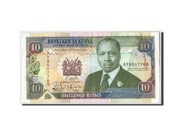 Kenya, 10 Shillings, 1993, KM:24e, 1993-07-01, TTB - Kenya
