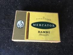 Boite à Cigares Mercator Bambi - Boites à Tabac Vides