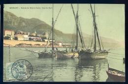 Cpa  De Monaco Pointe De Monte Carlo Vue Du Port    NCL7 - Port