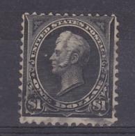 USA 1895 1$ Black Used (33352) - 1847-99 Algemene Uitgaves