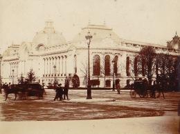 Photo Paris Exposition Universelle 1900 Le Petit Palais - Places