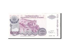 Croatie, 100,000 Dinara, 1993, Undated, KM:R22a, NEUF - Croatia