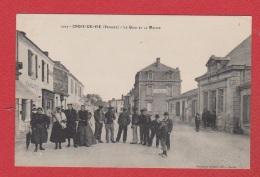 St Gilles  Croix De Vie  ---  Le Quai Et La Mairie - Saint Gilles Croix De Vie