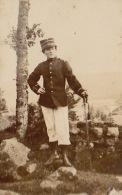 Photo Femme Du Général Circan En Uniforme - Guerre, Militaire
