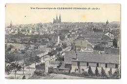 CLERMONT- FERRAND  (cpa 63)   Vue Panoramique -     - L 1 - Clermont Ferrand