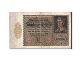 Allemagne, 10,000 Mark, 1922, KM:70, 1922-01-19, B+ - [ 3] 1918-1933: Weimarrepubliek