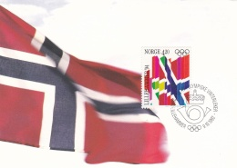 Olympics: Norway Maxicard 1992 Lillehammer Olympic Games    (G66-91) - Hiver 1994: Lillehammer
