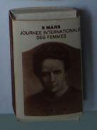 Boite D' Allumettes - Journée Internationale Des Femmes : Curie - Zündholzschachteln