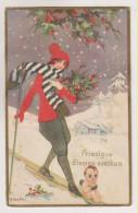 Chiostri.Women On Sledge,angel.Ballerini & Fratini  Edition Nr.185 - Chiostri, Carlo