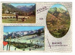 11932-LE-09-AULUS LES BAINS-Le Saint-Gironnais-Aulus-Latrappe---------vues Multiples Diverses - Francia