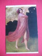 Albert Penot.Dancer With A Rose Veil - Autres Illustrateurs