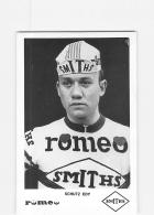 Edy SCHUTZ . 2 Scans. Cyclisme. Romeo Smiths - Radsport