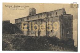 Tuscania (VT), Basilica Di S. Pietro, Lato Posteriore (sec. VI E VIII), Monumento Nazionale, Nuova - Altre Città