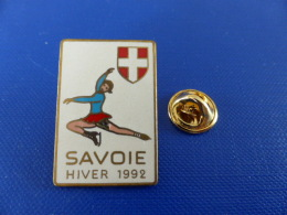 Pin´s Jeux Olympiques Albertville - Savoie Hiver 1992 - Patinage Artistique (PH50) - Olympic Games