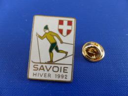 Pin´s Jeux Olympiques Albertville - Savoie Hiver 1992 - Ski De Fond (PH52) - Olympic Games