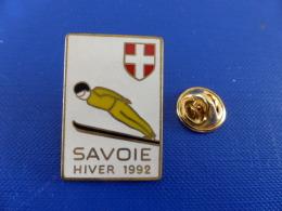 Pin´s Jeux Olympiques Albertville - Savoie Hiver 1992 - Saut à Ski (PH53) - Olympic Games