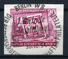 33122) DDR Marke Aus Block 10 Gestempelt Aus 1954, 30.- € - DDR
