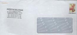 FRANCE Enveloppe PAP Entier Postal  PREOBLITERE Orchidée De Savoie : Experetus Solutions BISCHHEIM (neuf) - Entiers Postaux