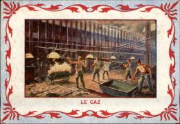 ELECTRICITE - GAZ - Chromo - Kaufmanns- Und Zigarettenbilder