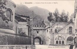 17S - 38 - Grenoble - Isère - Ancienne Porte Saint-Laurent Et L'Eglise - N° 142 - Grenoble