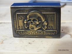 GERMAN WWII  MATCHBOX -trench Art - 1939-45