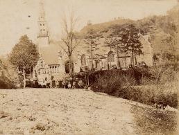 Photo 1899 Eglise Chapelle De Chateaulin Finistere Bretagne - Lieux