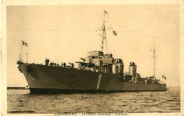 """Cpa CHERBOURG 50 Le Contre Torpilleur """" PANTHERE """" - Warships"""