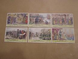 PETER DE GROTE Pierre Le Grand Histoire Liebig Série Reeks 6 Chromos Trading Cards Chromo - Liebig
