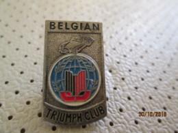 Belgian Triumph Club Pin - Asociaciones