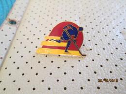 Ice Hockey Kodak Pin - Invierno