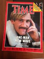 TIME Du 6 Février 1984 - Gérard Depardieu - Politik