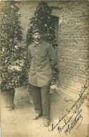 Cpa Photo Prisonnier De Guerre Du 3e, à BOCHUM 1916 - Weltkrieg 1914-18
