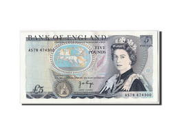 Grande-Bretagne, 5 Pounds, Undated (1973-80), KM:378b, SUP - 1952-… : Elizabeth II